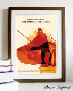 Star Wars: Episode The Empire Strikes Back Poster A3 Print