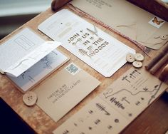 Good design makes me happy #type #stationery #invitation