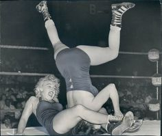 Castle Grayskull, I think thats Mae Young.