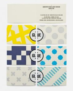 Magpie Studio #card #pattern #business