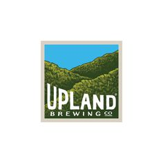 Upland Brewing Company Logo #beer #packaging #craft #illustration #upland #logo