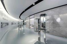 Swarovski stand by Tokujin Yoshioka, Basel Switzerland exhibit design #diamonds #glitter