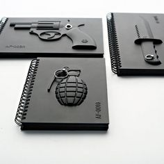 Fancy #design #notebook #black