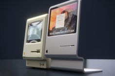 Macintosh Inspired Compact Desktop Computer By Curved/labs #computer #desktop #apple #nostalgic #compact #nostalgia #vintage #1984 #macintosh