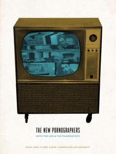 The New Pornographers - Gig Poster