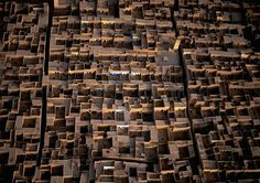 Hi-Def Photos - Earth From Above: Stunning Images by Yann Arthus-Bertrand - My Modern Metropolis #urbanism #courtyards #architecture #morocco