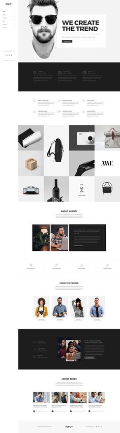 Pofo - #Creative #Portfolio and #Blog #WordPress Theme for Creative #Business by #ThemeZaa