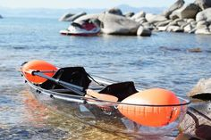 Transparent Kayaks and Canoes - IPPINKA Transparent kayaks and canoes are the next wave of underwater viewing and are about to blow them ou