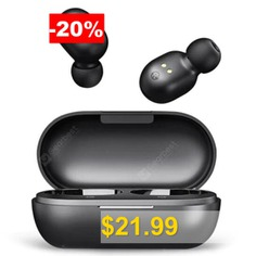 Xiaomi #Haylou #GT1 #Wireless #Bluetooth #5.0 #Earbud #from #Xiaomi #Ecosystem #Product #- #BLACK
