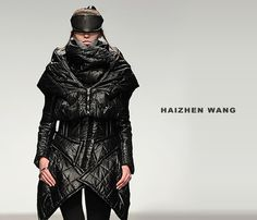 Haizhen Wang fall/winter 2013 #fashion #design