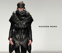 Haizhen Wang fall/winter 2013 #fashion #design