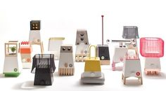 NY Design Week 2012: UM Project's Craft System Lamps at WantedDesign - Core77 #lamp