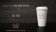 642 Cafe on the Behance Network #coffee #cafe #branding