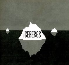 stopping off place: -^- #iceberg #illustration