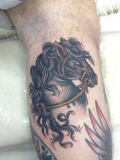 20121028 110759 PM.jpg #tattoo #horse