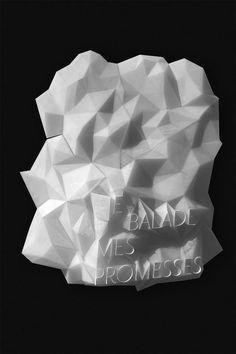 Unquoted Sheets — Les Graphiquants 2012www.les graphiquants.fr www.la graphiquerie.fr maximetetard.tumblr.com #white #cristal