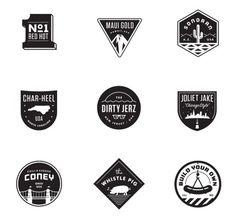Matt Stevens // Creative Direction + Design - WORK BLOG - Process: JJ's Red Hots - Pt.02 / Extending theBrand #badge #red #stevens #branding #matt #hot #jjs #logo #hots #dog