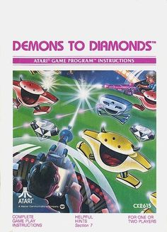 Atari - Demons To Diamonds | Flickr - Photo Sharing! #games #video #illustration #manual #booklet