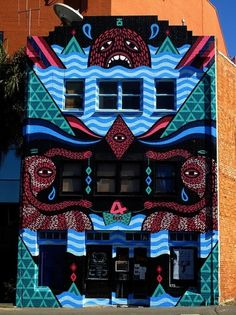 Beastman4.jpg (600×800) #graffiti #outdoor #illustrations #buildings