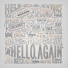 Typeverything.com   Hello Again by Erik Marinovich (via Friends of Type)