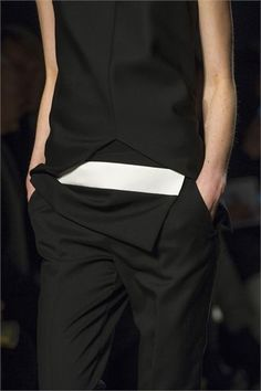 Narciso Rodriguez New York 2013-14 #fashion #vogueit