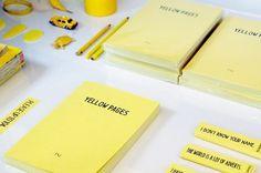 PAPIER LABO. » BLOG. #note #yellow