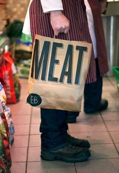 Ennis Butchers | Aad #branding #print #design #retail #bag