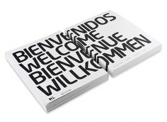 Guestbook on the Behance Network #design #white #editorial #black