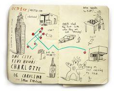 maps #ink #city #map #comic #illustration #funny