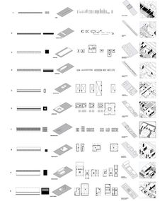 Ungers 2: Building Typology diagrams #urban