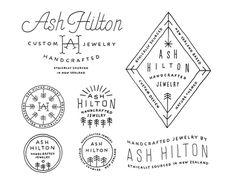 Ashhilton_full #logo #lettering #branding
