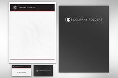 Folder, Letterhead & Business Card #Mockup #Template #Free #Photoshop #PSD #Identity #Branding #Letterhead #Folder #Card #BusinessCard
