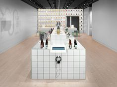 Beer at Spritmuseum by Form Us With Love #interior #minimalist #museum