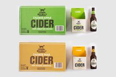 Hillbilly Cider #packaging #apple #cider #pear