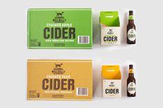 Hillbilly Cider #packaging #apple #cider #pear