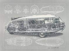 4 | How Bucky Fuller Presaged The Bay Area's Design Boom | Co.Design: business + innovation + design #bucky #illustration #fuller
