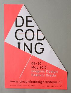 Graphic Design Festival, Breda #graphic design #poster #festival #netherlands
