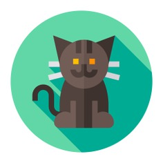 See more icon inspiration related to cat, pet, mammal, feline, mammals, animals and animal on Flaticon.