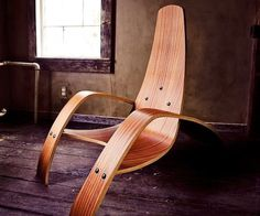 Bent Plywood Lounge Chair