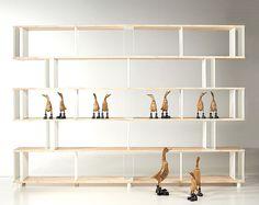 Pietro Piarotto Bookcase Skaffa Wood Random - furniture, furniture design, #design, modern furniture, #furniture