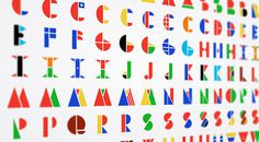 1 | A Multinational Typeface Inspired By The Flags Of The World | Co.Design | business + design