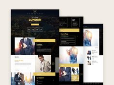 Evently is the perfect #template if you want to create an event or meeting website.