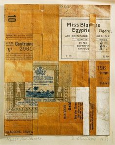 1923+Merz+231+Miss+Blanche.jpg (810×1021) #kurt #collage #schwitters #art