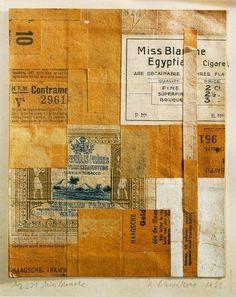 1923+Merz+231+Miss+Blanche.jpg (810×1021) #kurt #collage #schwitters #art