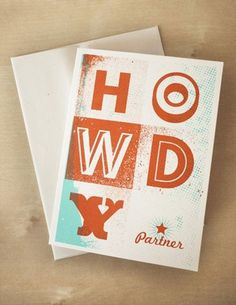 FFFFOUND! #type #howdy #orange #stationary