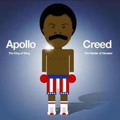 My Photos - Wall Photos #illustration #apollo #creed #rocky
