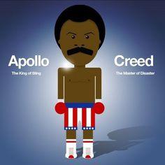 My Photos - Wall Photos #illustration #apollo #creed #rocky