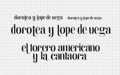 Esteve Padilla ➽ ohhh.ws #serif #sans #de #black #lope #drop #vega #sketches #dorotea #typo #typography