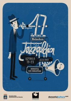 Andres lozano Illustration #gig #illustration #poster #music #typography