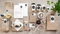 moodley brand identity coffee #print #branding